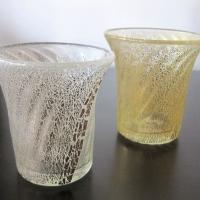 中川純一「金箔・銀箔グラス」
